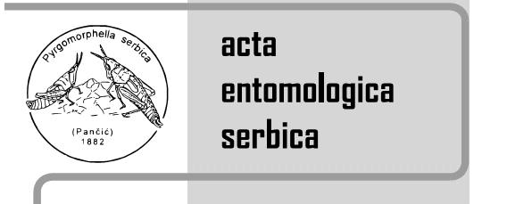 Acta entomologica Serbica